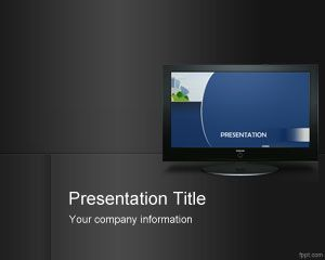 digital signage powerpoint template