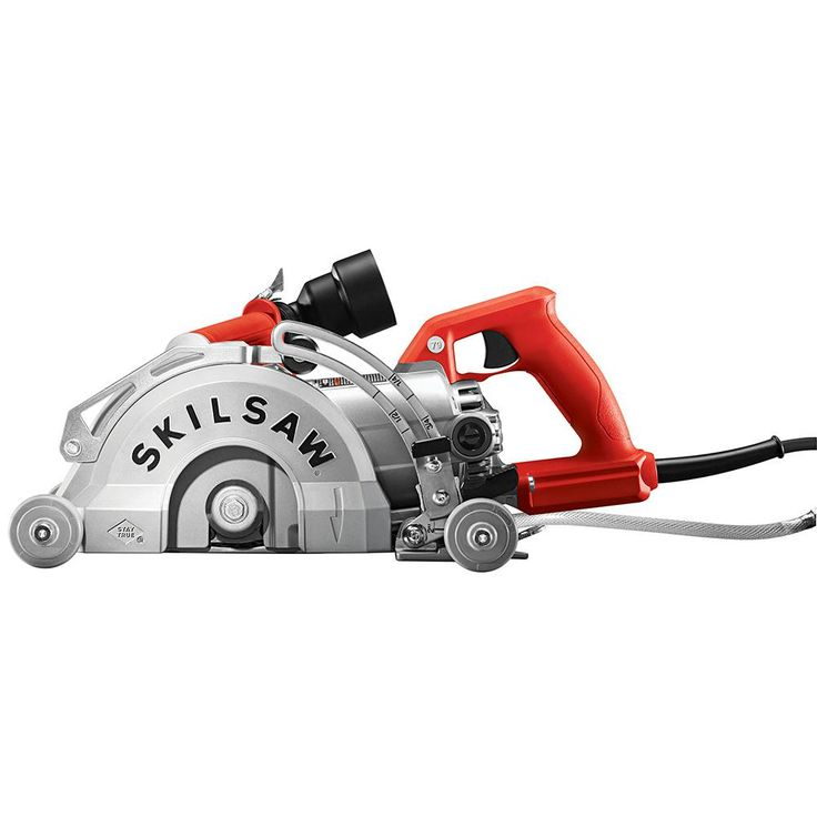 SKILSAW 15 Amp Corded 7 in. Medusaw Aluminum Worm Drive Circular Saw for Concrete
