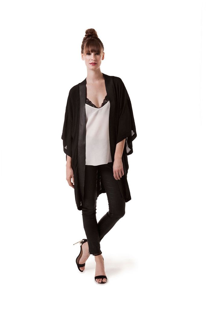 The LBK (Little Black Kimono), Amanda Hamilton Lifestyle Collection