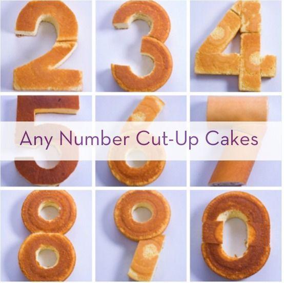 So erstellen Sie eine beliebige Anzahl mit im Laden gekauften Kuchen – #Cake #Cakes #Create #Number …   – snapchat
