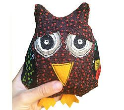 Spotty Long Mintchi Owl - Sleepy SML