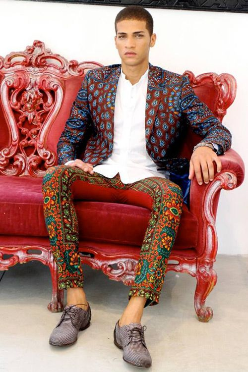 Dent de Man Spring 2014 #royaltreatment #Zappos - love each piece but maybe on their own.