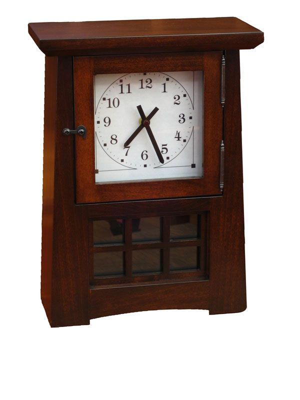 17 Best Images About Craftsman Style Clocks On Pinterest