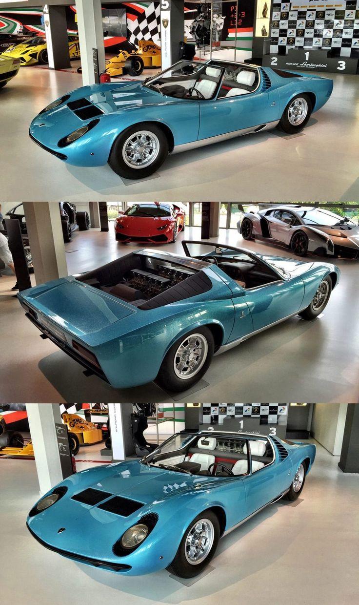 1968 Lamborghini Miura Convertible