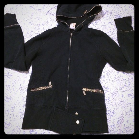 O'Neill Jacket O'Neill black zip up jacket. Used but in Great condition. Zipper works although logo zipper handle is broken off. O'Neill Jackets & Coats