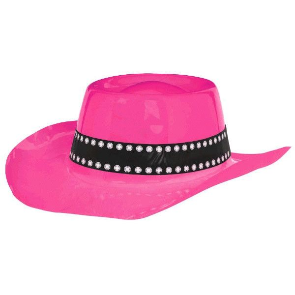 Western Pink Cowboy Hat