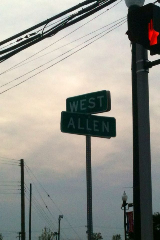 I saw this today in the car and about freaked out! Wally WEST and Barry ALLEN. And Iris West-Allen and Bart Allen