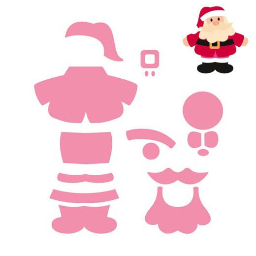 Marianne Design Collectables Cutting Dies - Eline's Santa COL1391