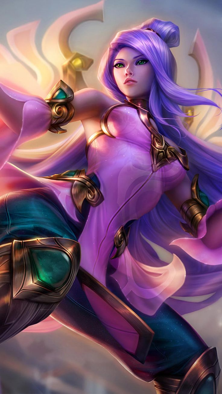 Order of the Lotus Irelia Skin android, iphone wallpaper, mobile background