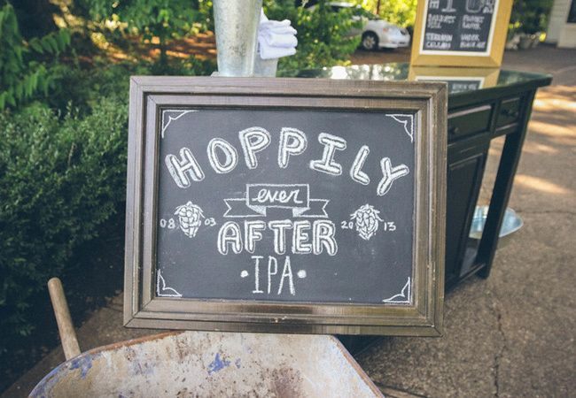 how cute for the bar - Romantic and Funny Sayings For Your Wedding Signs