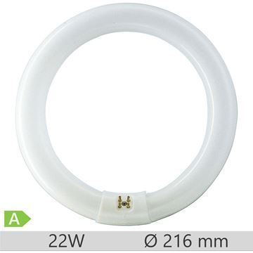 Tub fluorescent circular Narva T9 22W/840 COLOURLUX PLUS, 4014501074381