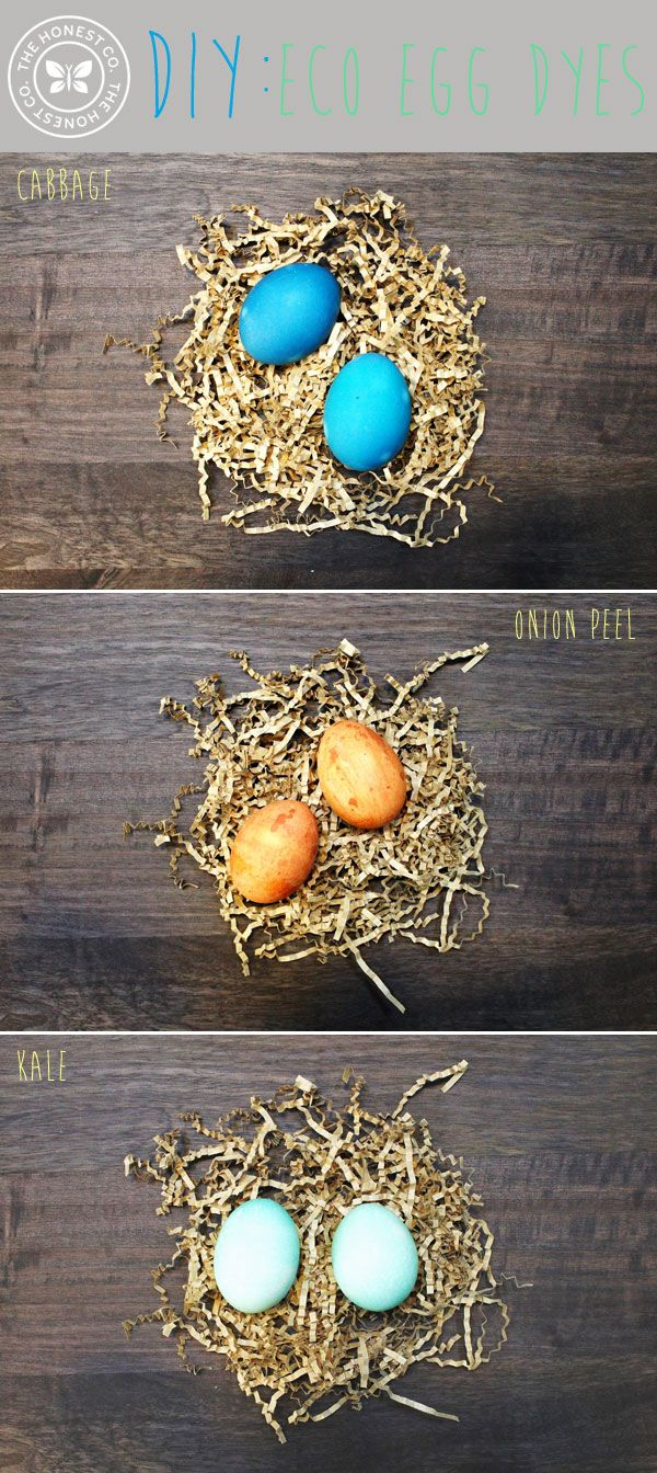 Easy, inexpensive and naturally beautiful! Have fun preparing for Easter with these egg-cellent homemade dyes | via @The Honest Company blog