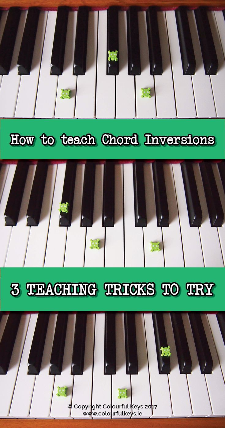 57 best 1 music scales images on pinterest music ed music 3 tricks for teaching chord inversions hexwebz Image collections