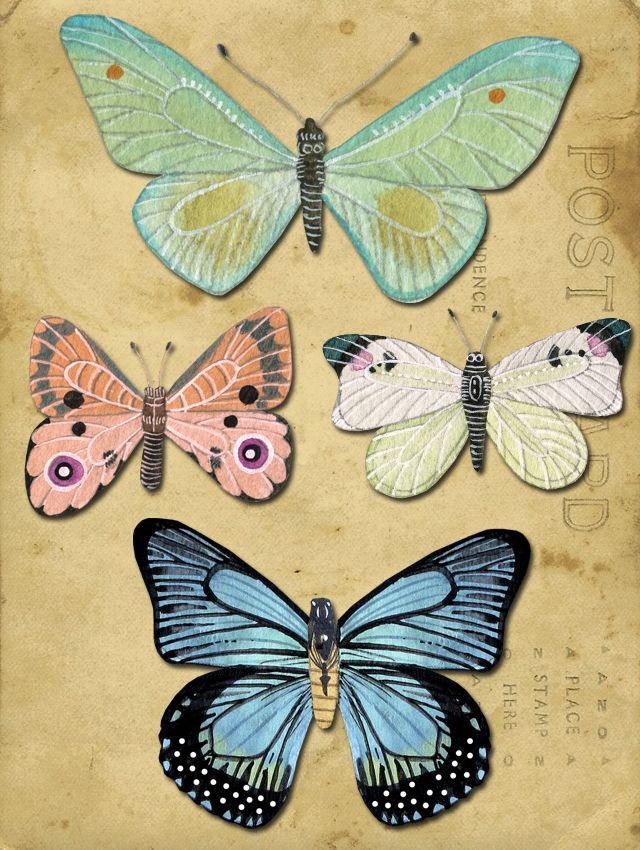 Geninne does butterflies, too!