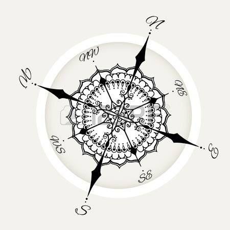 Die Besten 25 Windrose Tattoo Ideen Auf Pinterest