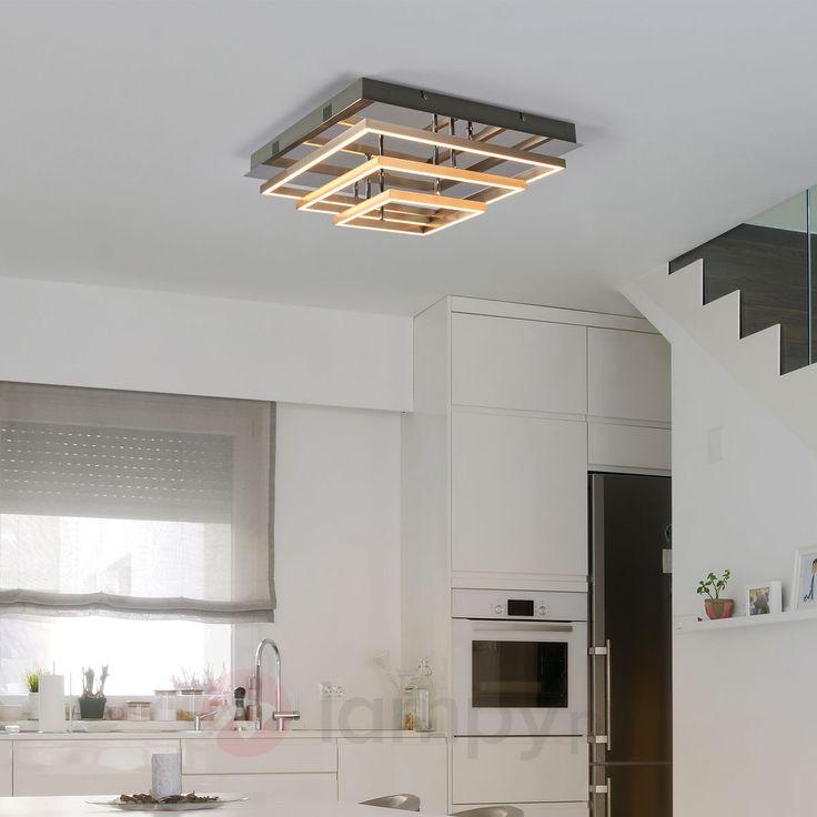 Lampa sufitowa LED Leve z trzema metalowymi ramami 9987048