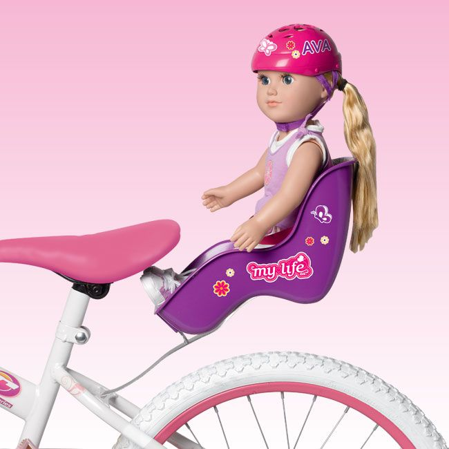 Bike Seat Set My Life As 18 Quot Dolls Non Ag