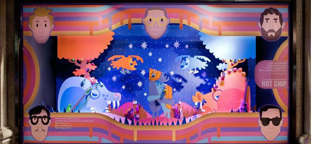 Selfridges HotChip Selfridges Launch Sounds of the Mind Window Displays