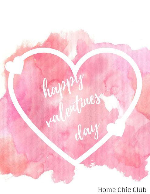 Valentine's Day Printable Wall Art