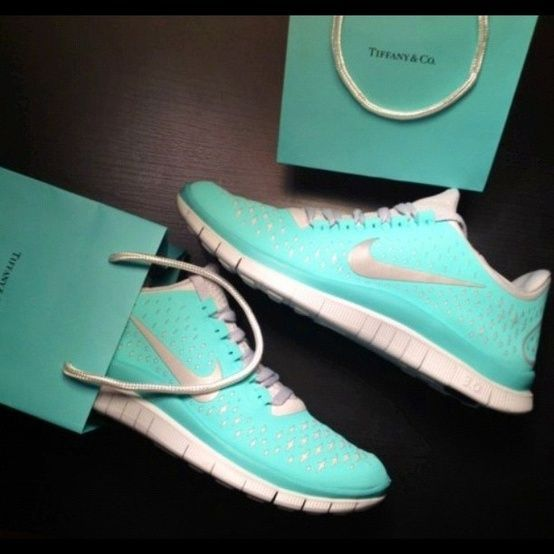 Nike Free Run 3 Womens Tiffany Blue Shoes