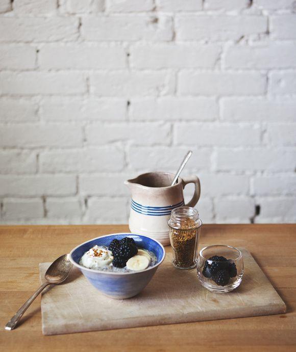 Blackberry Chia Breakfast Bowl | Free People Blog #freepeople