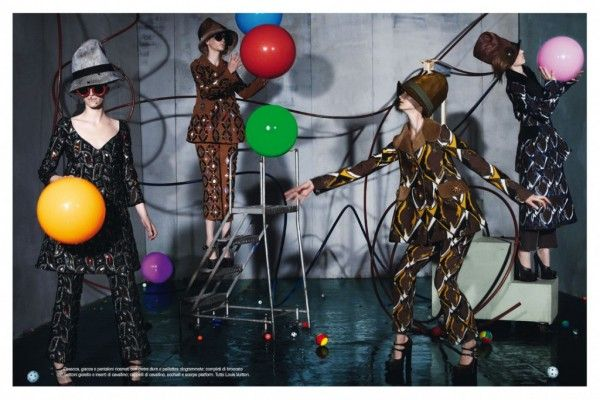 TRENDLAND - Amazing editorial showing all the latest AW12-13 collection, shot by Meisel and style by Karl Templer
