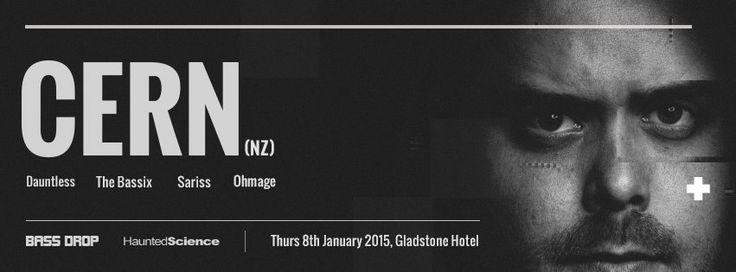 Haunted Science Sydney w/ Cern @ The Gladstone Thurs 8 Jan 2015