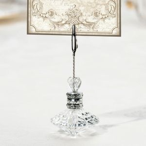 elegant romance place card holder set of 4