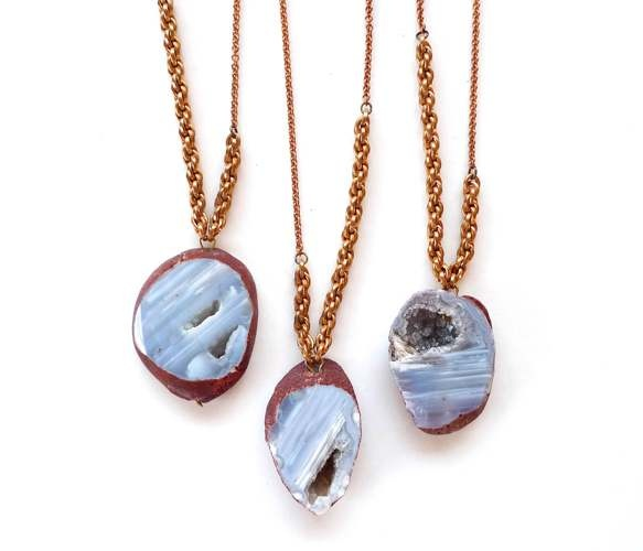 Botswana Agate Rope Necklace | Uncovet