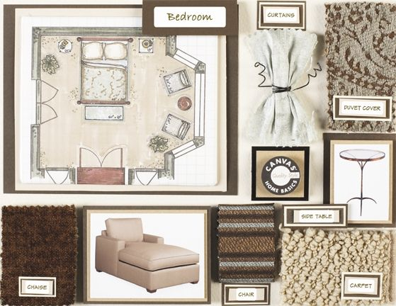 Merveilleux Inspiration: Interior Design Boards   *Lovely Clusters   The Pretty Blog