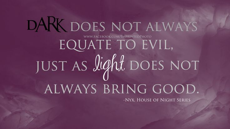 House of Night Quote!