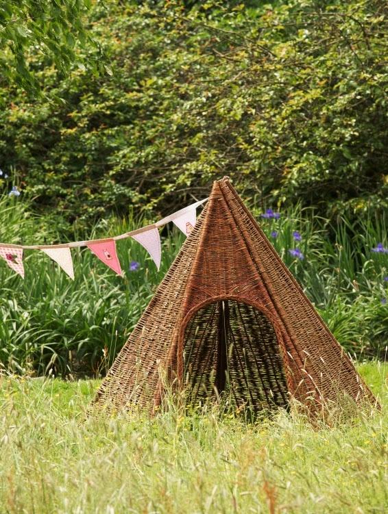 wicker tent