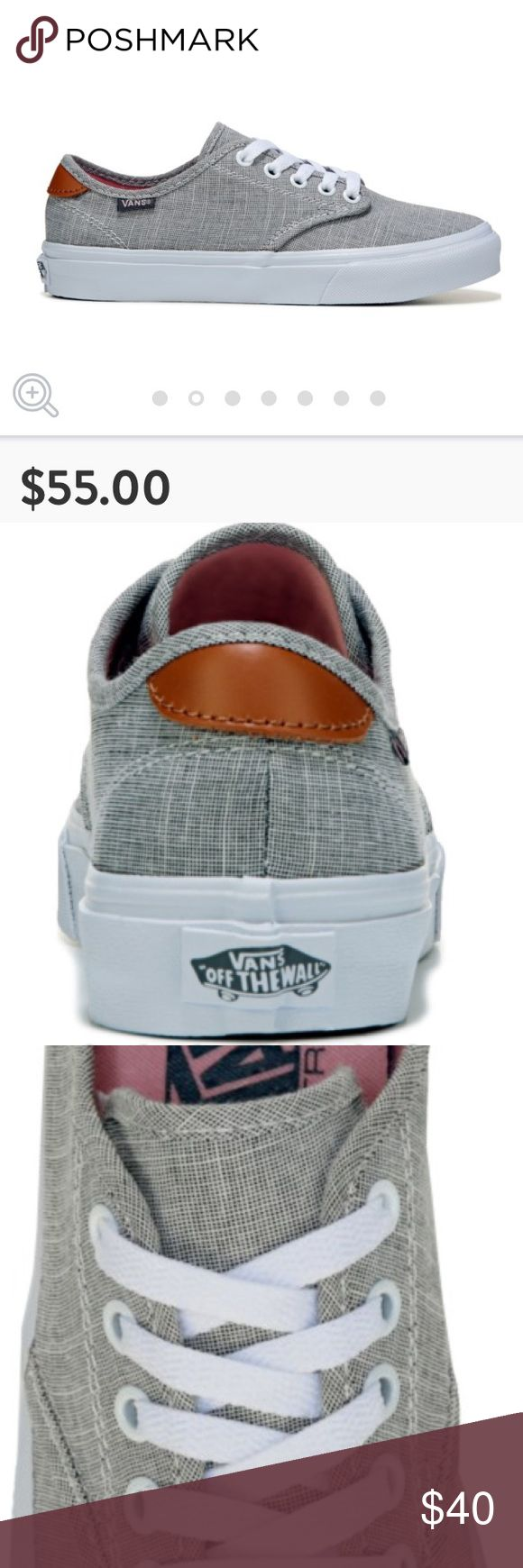 VANS Ultra Cush Skate Shoe Like new! I don't think these were ever worn! Price Firm. Will keep if they don't sell at this price. Vans Shoes Sneakers