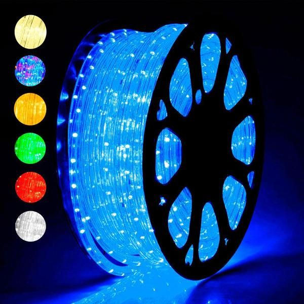 150ft Delight Outdoor Lighting Led Rope Light Color Opt In 2020 Led Rope Lights Rope Light Led Outdoor Lighting