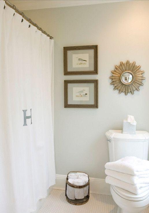 Bathroom Paint Colors Benjamin Moore : Beach glass interior designs bathrooms benjamin moore