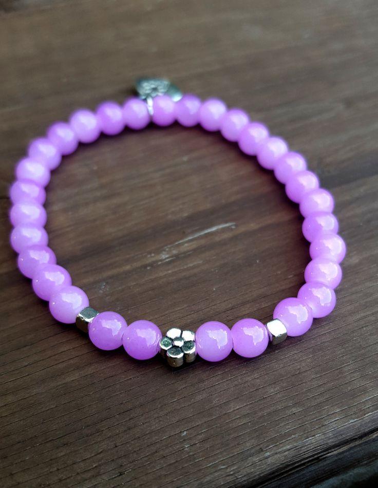 Bracelet | Breloque | Fleur | Grow | Perle | Semi précieuse | Boho | Made With…