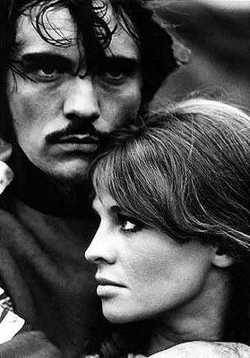 Julie Christie and Terence Stamp, publicity shot for Far From The Madding Crowd (John Schlesinger, 1967)