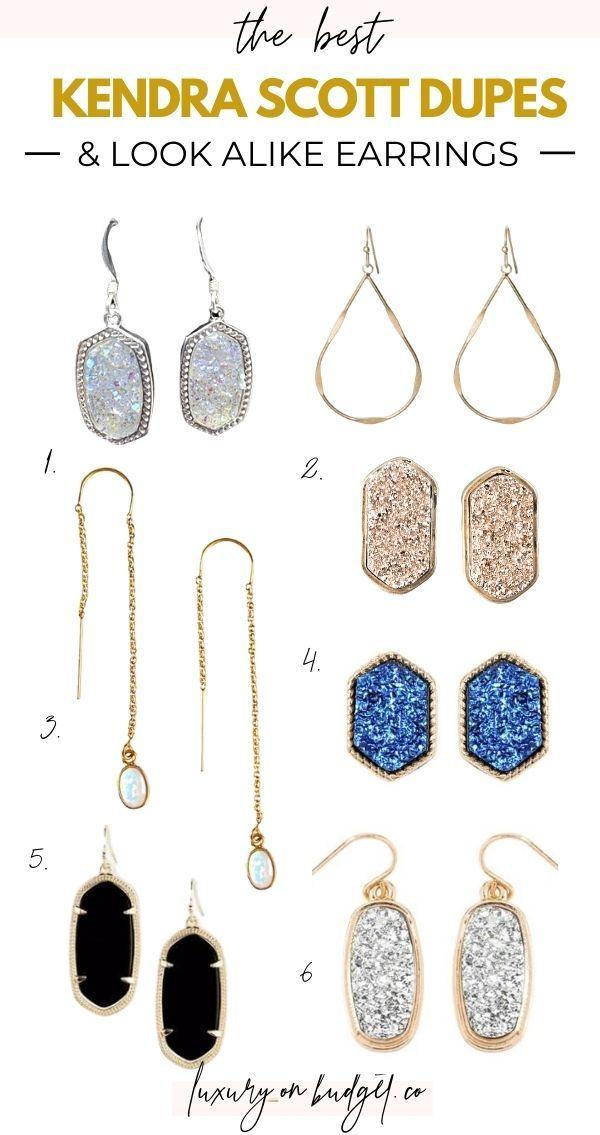 Kendra Scott Look Alike Jewelry : kendra, scott, alike, jewelry, Kendra, Scott, Alike, Earrings, Under, Jewelry, Design, Inspiration,, Alike,