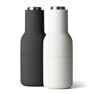 Menu Bottle Grinders - Carbon + Ash - Steel Top – Immy + Indi