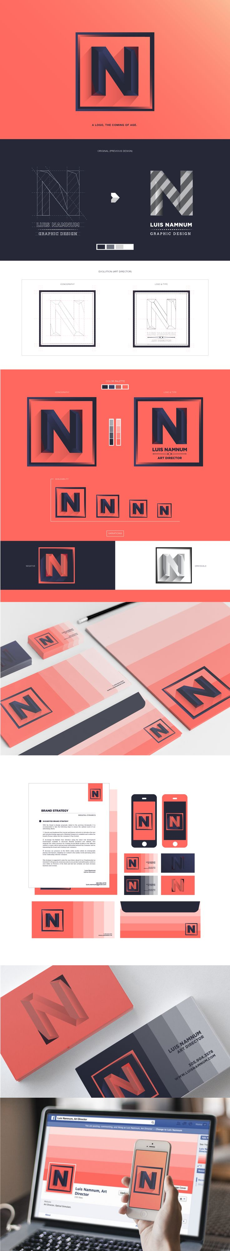 Brand Identity Re-design on Behance