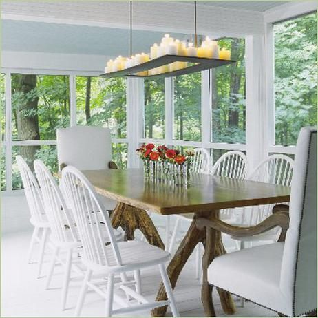 CAREFREE SCREENED PORCH DINING