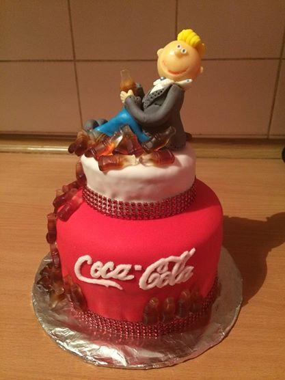 Dorty Coca-Cola/ Coca-cola cake