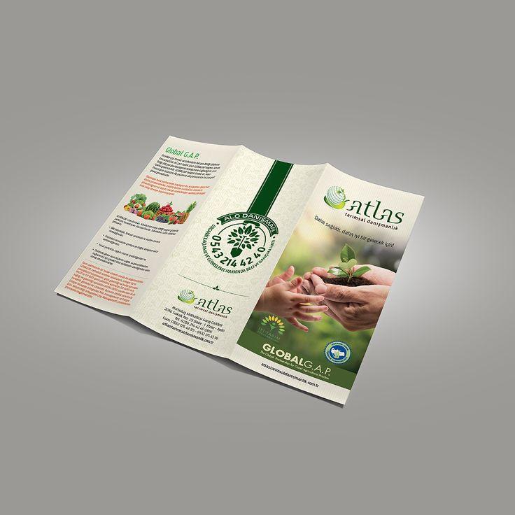 atlas tarımsal danışmanlık için yapılan kurumsal broşür tasarımı & basımı. kurumsal ajans & tedarikci olarak ajansımızı tercih ettikleri için teşekkür ederiz. cagajans.com.tr