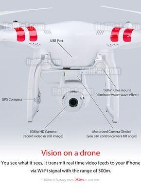 DJI Phantom 2 Vision GPS Drone (RTF) - HeliPal