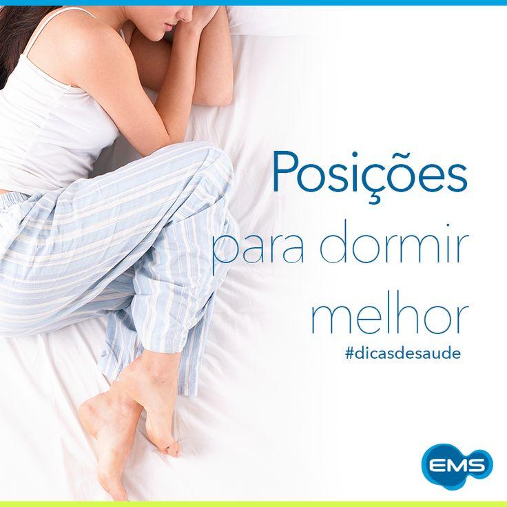 A posição indicada para dormir é se deitar completamente de lado. Assim você dorme melhor. #dicasdesaúde