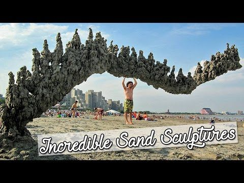 20 Incredible Sand Sculptures You Won't Believe Your Eyes
