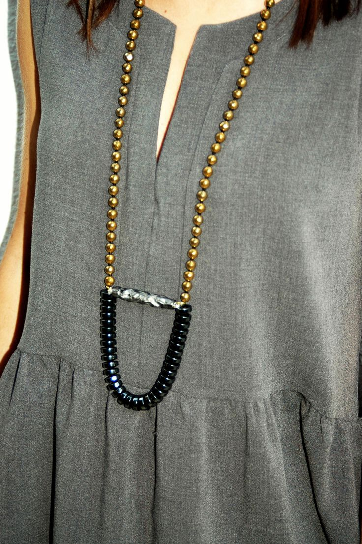 BABETTE XL GOLD NECKLACE by V0R available at our e-shop