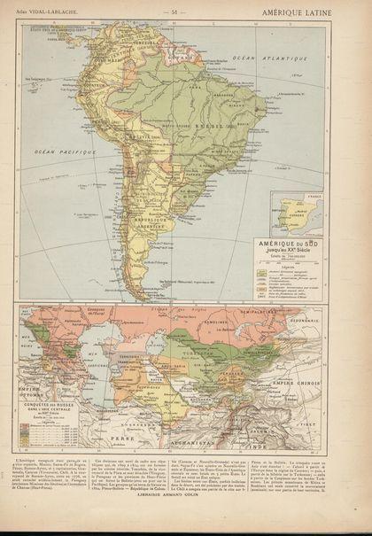 Antiguos mapas de América del Sur. Si los descargan y los observan con calma van a notar las diferencias políticas en el tiempo... por ejemplo como era Argentina en 1846... 1870 - (2500 x 3032 pixel)....