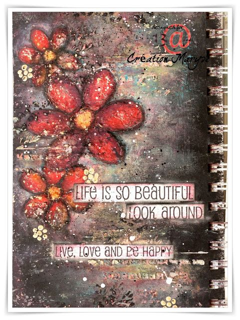 Art journal by Maryse