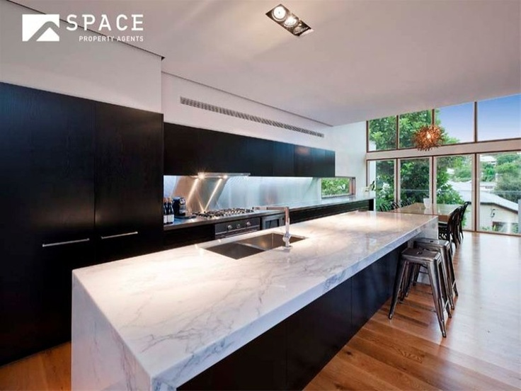 #Kitchen benchtop - marble look smartstone. Have a look at how the #benchtops are cleaned in a professional way: . http://www.youtube.com/watch?v=PHfSTEAGSeM